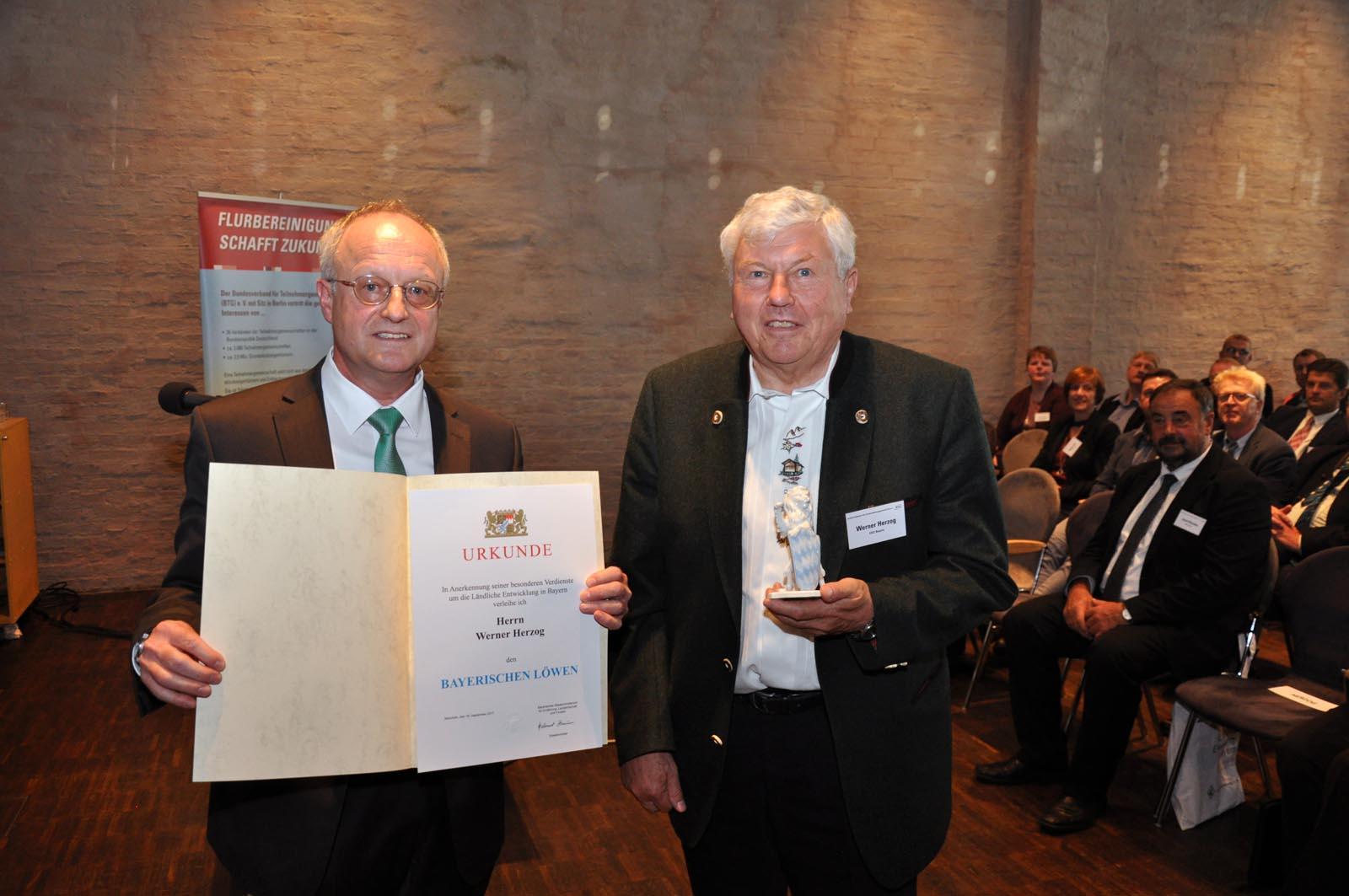 Auszeichnung für Werner Herzog