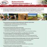 BTG - Freyburger Erklärung zur Zukunftsfähigkeit ländlicher R