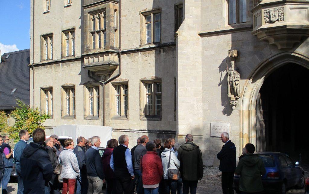 BTG Mitgliederversammlung 2018 - Besuch der Landesschule Pforta