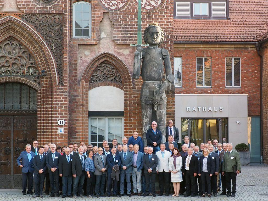 Mitglieder und Gäste des BTG e. V. zur Mitgliederversammlung 2019 in Brandenburg a. d. Havel